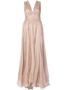 платье без рукавов с глубоким вырезом  Maria Lucia Hohan