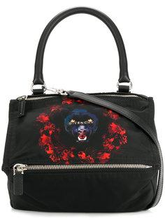 маленькая сумка-тоут Pandora с принтом Givenchy