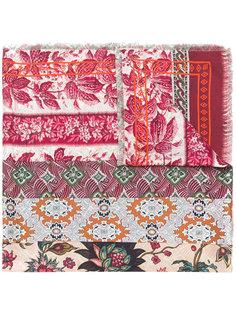 платок с принтом и бахромой Pierre-Louis Mascia