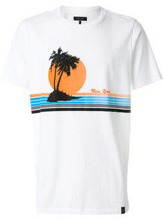 футболка с принтом Rag & Bone