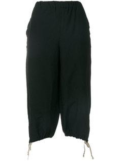 укороченные брюки со шнурком  Comme Des Garçons Girl