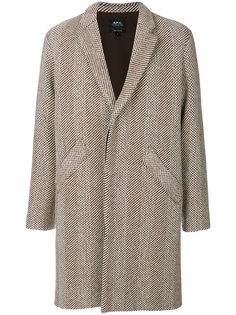 трикотажное пальто A.P.C.