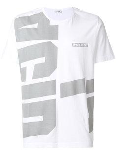 футболкас принтом логотипа Tim Coppens