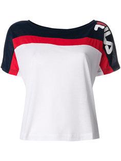 "футболка дизайна ""колор-блок"" Fila"