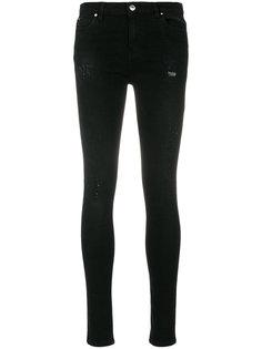 состаренные джинсы с завышенной талией  Iro