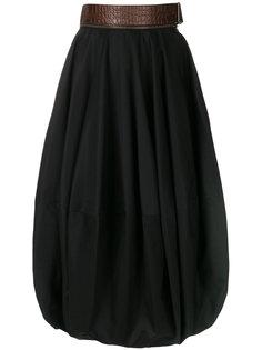 юбка с завышенной талией JW Anderson