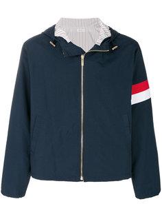 куртка с капюшоном на молнии Thom Browne