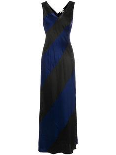 вечернее платье в полоску Dvf Diane Von Furstenberg