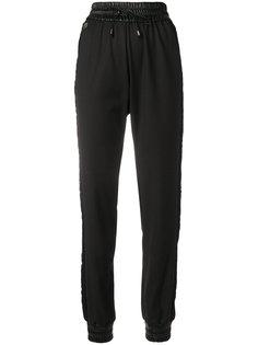 брюки с кружевными вставками Philipp Plein