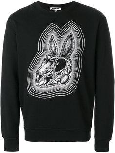 толстовка Bunny Be Here Now McQ Alexander McQueen