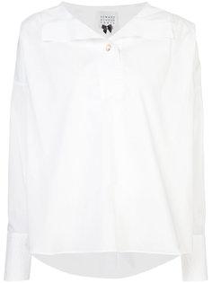 рубашка с пуговичной планкой сзади Edward Achour Paris