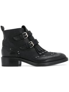 ботинки с бахромой Sartore
