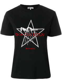 футболка Death Metal McQ Alexander McQueen
