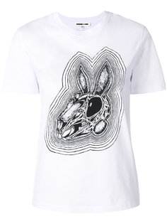 футболка Bunny Be Here Now McQ Alexander McQueen