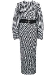 платье миди с принтом Mirabelle Solace London