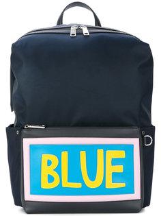 рюкзак с нашивкой Blue Fendi