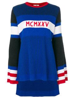 асимметричный свитер Fendi