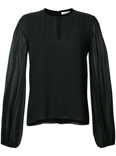 блузка с прозрачными рукавами Elizabeth And James