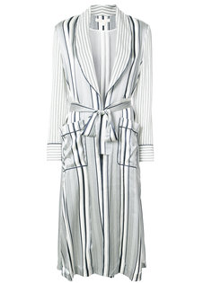 полосатый свободный халат Jonathan Simkhai