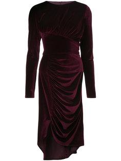 платье с разрезом сбоку Christian Siriano