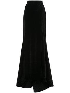 юбка с удлиненным подолом Christian Siriano