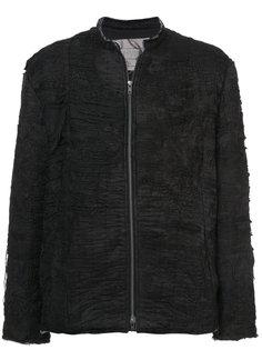 куртка с потертой отделкой By Walid