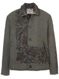 куртка с цветочным принтом By Walid