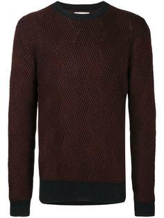 классический трикотажный свитер Cerruti 1881
