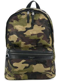 рюкзак с камуфляжным принтом Michael Kors