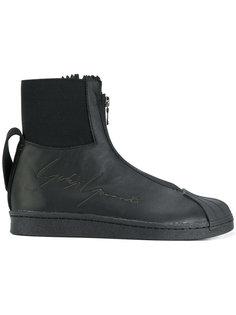 кроссовки с тиснением на молнии Yohji Yamamoto