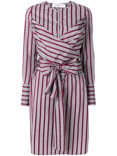 платье-рубашка в полоску Victoria Victoria Beckham