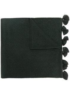 шарф с кисточками Fendi