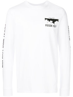 футболка Poison Youth с блинными рукавами McQ Alexander McQueen
