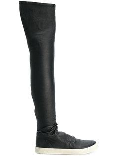 кроссовки-сапоги по колено Rick Owens