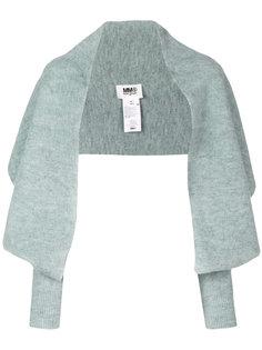 трикотажный шарф Mm6 Maison Margiela