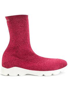 облегающие ботинки Mm6 Maison Margiela