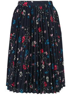 плиссированная юбка Hourglass  Balenciaga