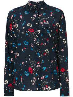 рубашка с цветочным принтом Balenciaga