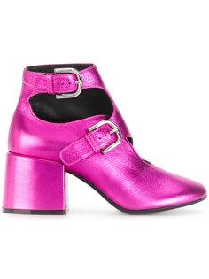 ботинки с пряжками Mm6 Maison Margiela