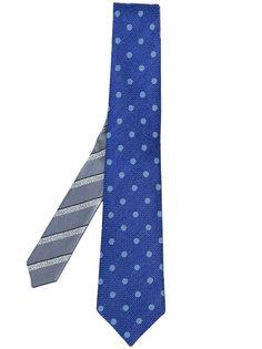 галстук с вышивкой Canali