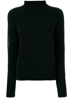 свитер с высокой горловиной и вышивкой Haider Ackermann