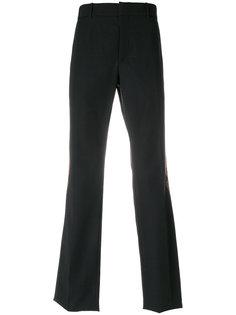 брюки с нашивкой пейсли Alexander McQueen