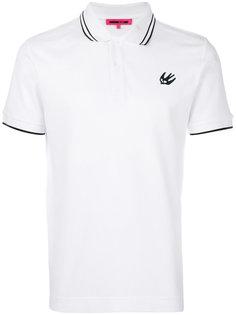 рубашка-поло с ласточкой McQ Alexander McQueen
