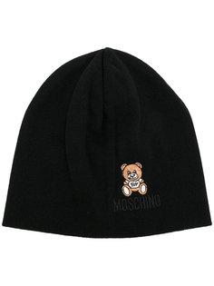 шапка-бини с вышивкой Moschino