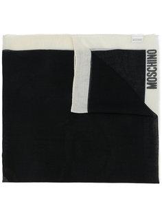 шарф с принтом Moschino