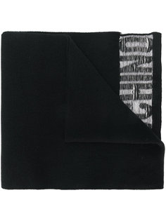 шарф с логотипом Moschino