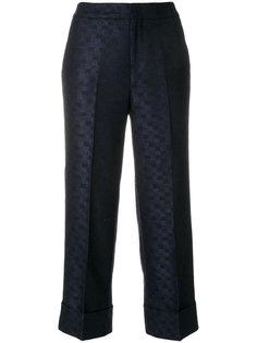 брюки с вышивкой Shala Pt01