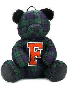 рюкзак в виде медведя в клетку Fenty X Puma