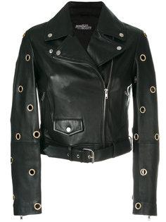 байкерская куртка с люверсами Jeremy Scott