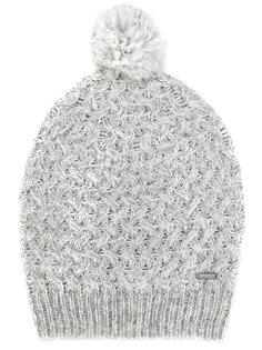 шапка-бини с помпоном Woolrich
